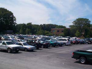 A car lot; Size=240 pixels wide